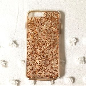 Case-Mate Rose Gold Flake IPhone 6S/7/8 Plus Case